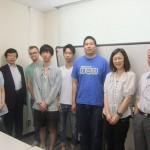 旭丘高校生物部と北大大学院生とのコラボレーション