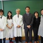 札幌西高等学校でのアウトリーチ活動