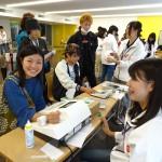 北海道薬科大学でのアウトリーチ活動